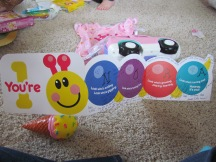Cute card, Baby Einstein shoutout