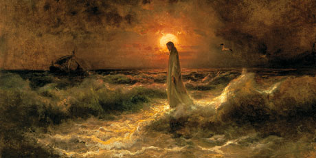 christ-on-water