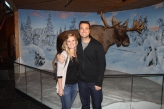 Saw a moose on our first date