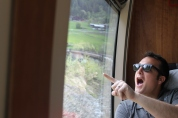 Train ride from Åndalsnes