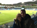 Soccer game in Drammen