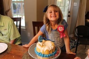 She's 6!