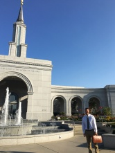 A sweet morning at the temple